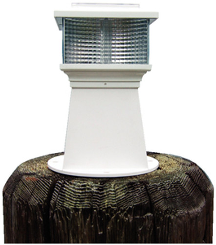 Dock Edge Solar Piling Light, 6""