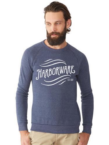 HarborWare Vintage Logo Fleece Sweatshirt, Navy
