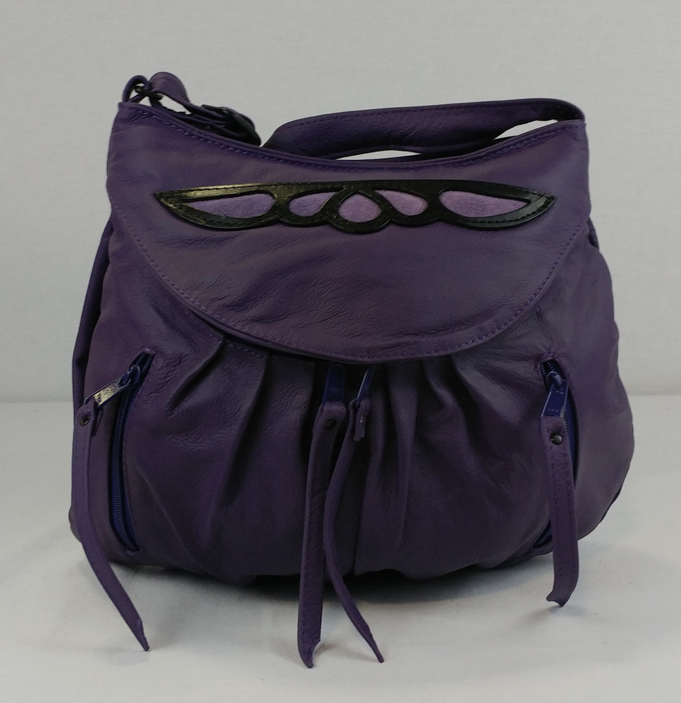 Purple Small Route #66 Hobo with Purple Overlay