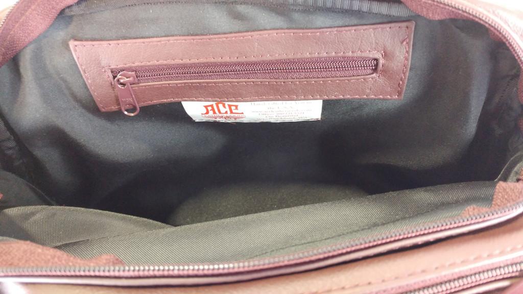 The necessary wall zipper.