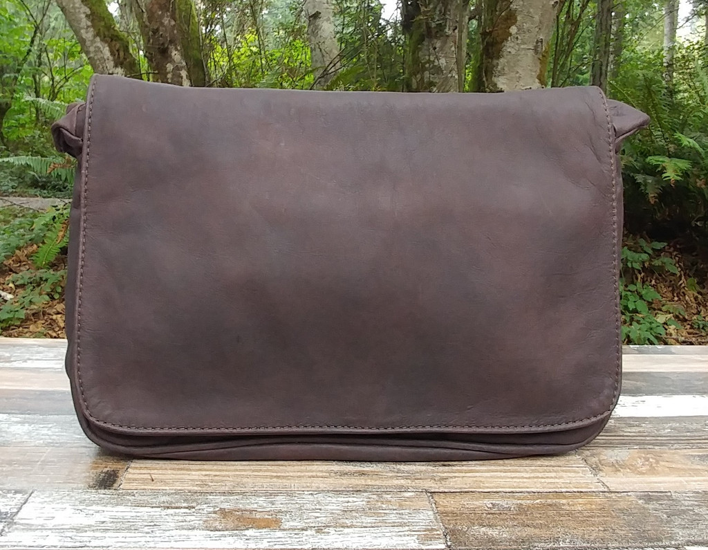Distressed Brown Small Organizer