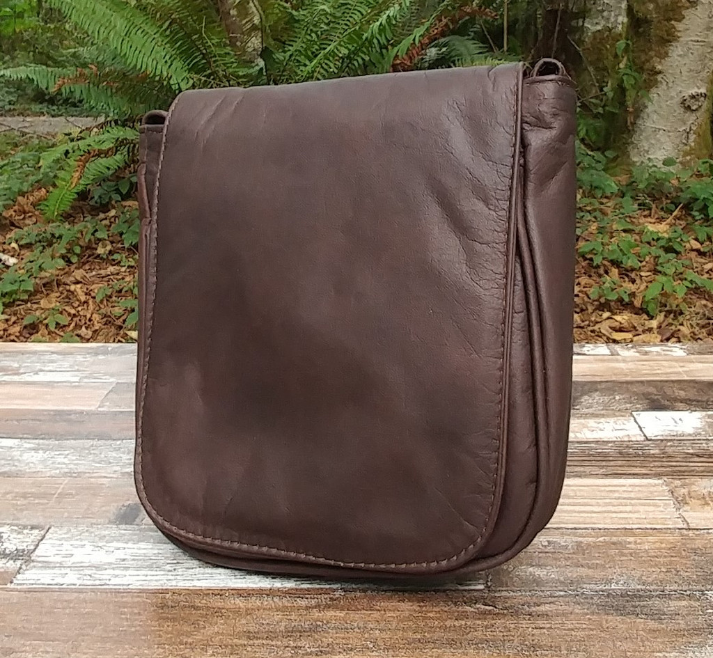 "Distressed Brown ""Little Black Purse"""