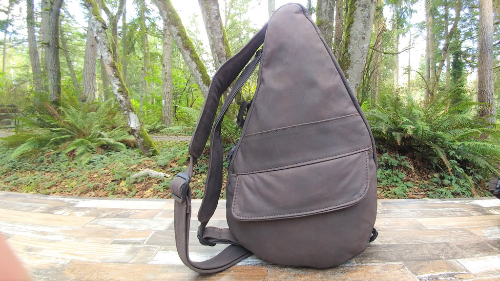 Distressed Brown Small TravelMate Backpack