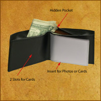 Hidden Pocket Bifold