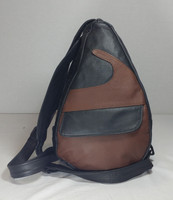 TravelMate Backpack       Small-Black and Brown Wave