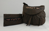 Soft and Supple Distressed Leather.