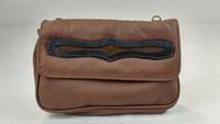 Brown with Brown Overlay.  Soft and supple leather.
