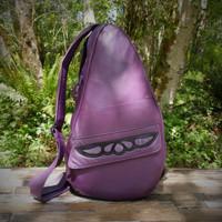 Large Purple TravelMate Backpack with Purple Overlay