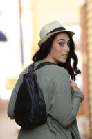 Extra Large Black TravelMate Backpack with Black Overlay