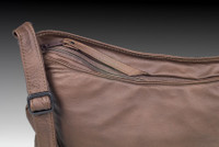 Distressed Brown Small Route #66 Hobo