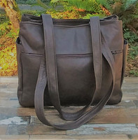 """Distressed Brown """"The Maven"""""""