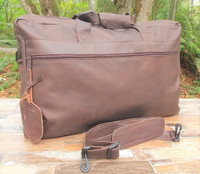 Distressed Brown Double Traveler