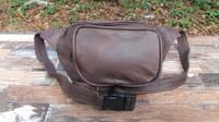 Distressed Brown Medium Waist Pack