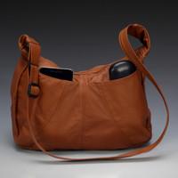 Hidden Pocket Hobo Bag