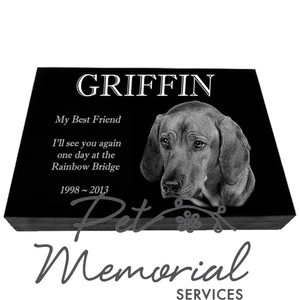 GRIFFIN Pet Memorial Marker