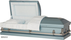 VANGUARD 20 Gauge non-protective metal casket light blue