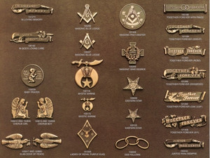 Bronze emblems . A Single bronze marker include 2 emblems and a companion marker gives you 3 emblems.  Thousands to choose from.