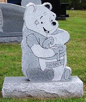 CHILD POOH BEAR upright