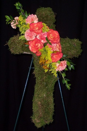 FLORAL CROSS 12
