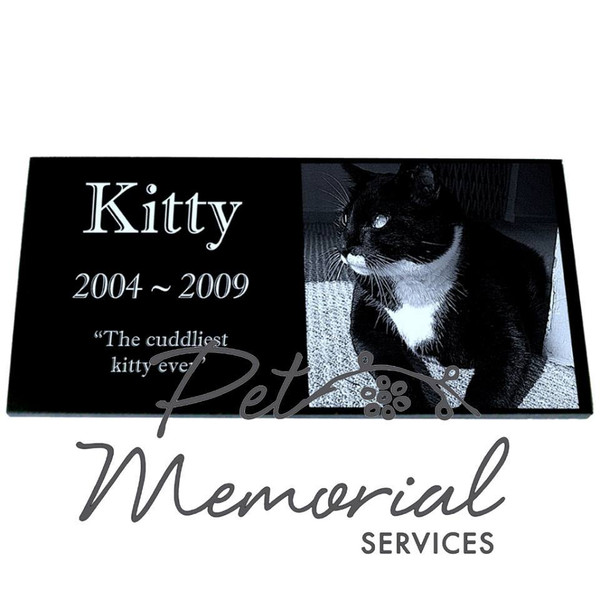 KITTY Pet Memorial Marker