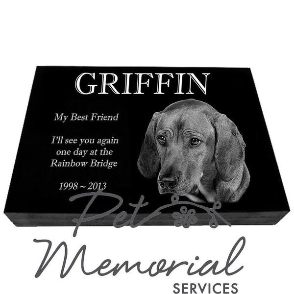 GRIFFIN Pet Memorial Marker