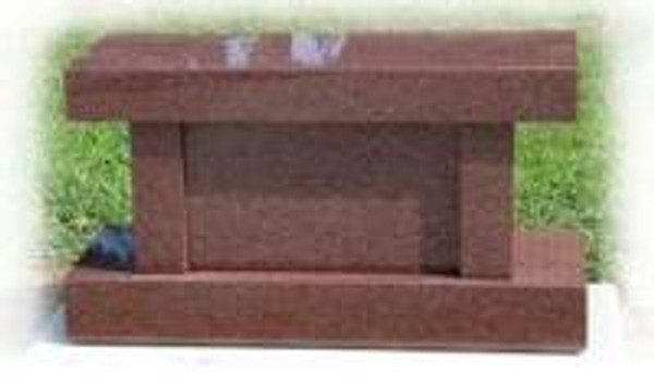 BENCH India Red Cremation   Call for pricing