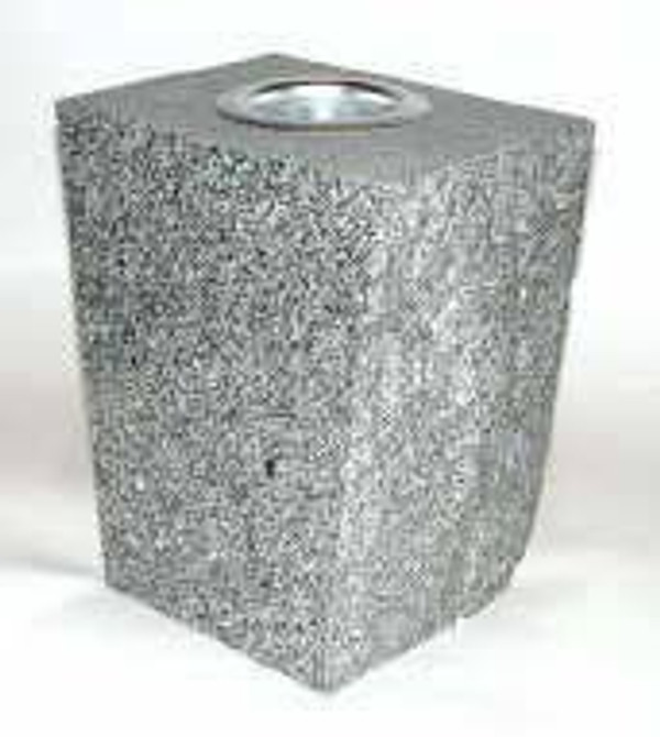 Square Granite Vases in various sizes and colors
