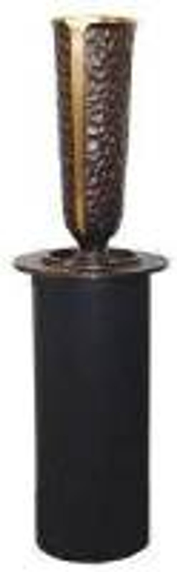 Bronze Recessing  Inverted patrician vase