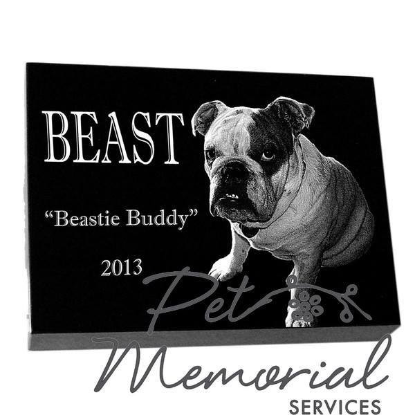 BEAST  Pet Memorial marker