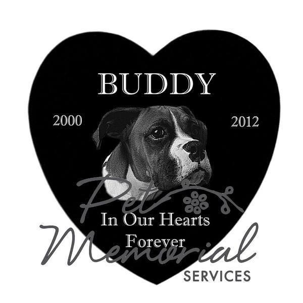 """BUDDY"" PET MEMORIAL MARKER"