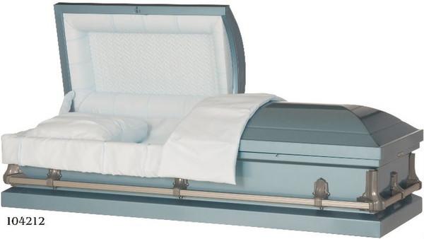 VANGUARD 20 Gauge non-protective metal casket light blue