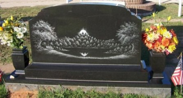 HAND ETCHED SCENE