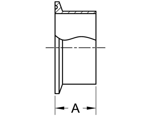 L14AM7 - BUTT WELDING FERRULE