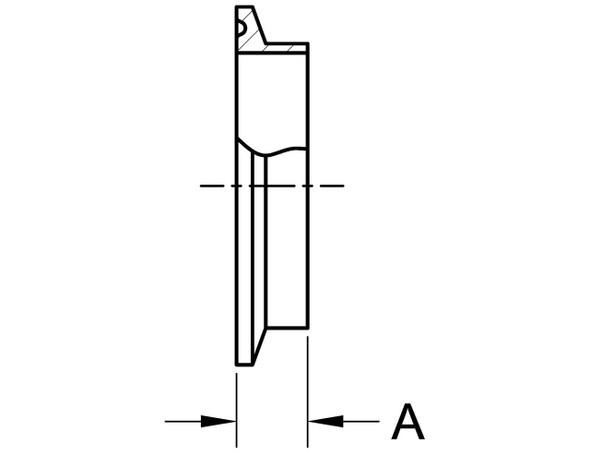 14WMP - SHORT WELDING FERRULE