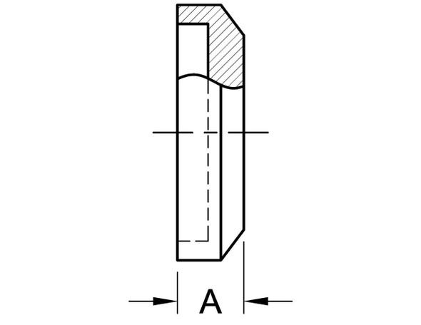 16AI-15I - FEMALE I-LINE END CAP
