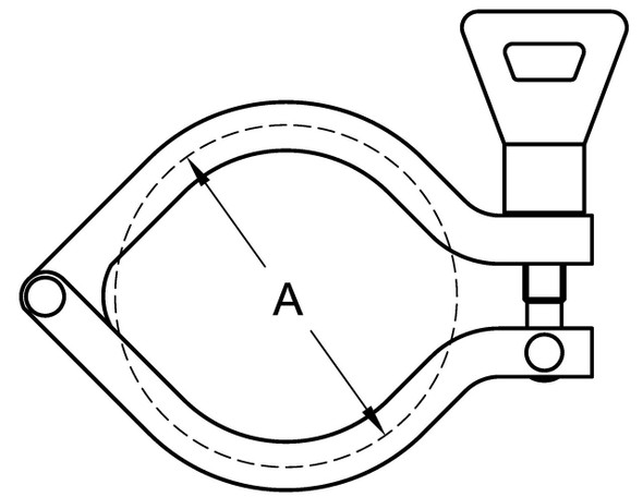 13IS - I-LINE CLAMP (SINGLE PIN)