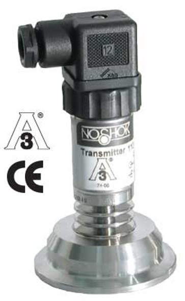 NOSHOK  11 Series ASME-BPE Sanitary Clamp Pressure Transmitters, offered by Lighthouse Process