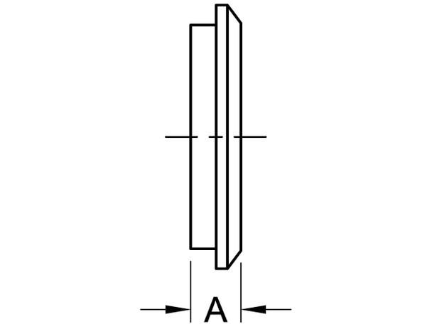 16AI-14I - MALE I-LINE END CAP