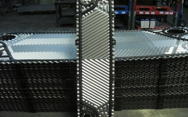T-Series CH Plate Piece with NBR Clip Tyle Gasket  Thermaline