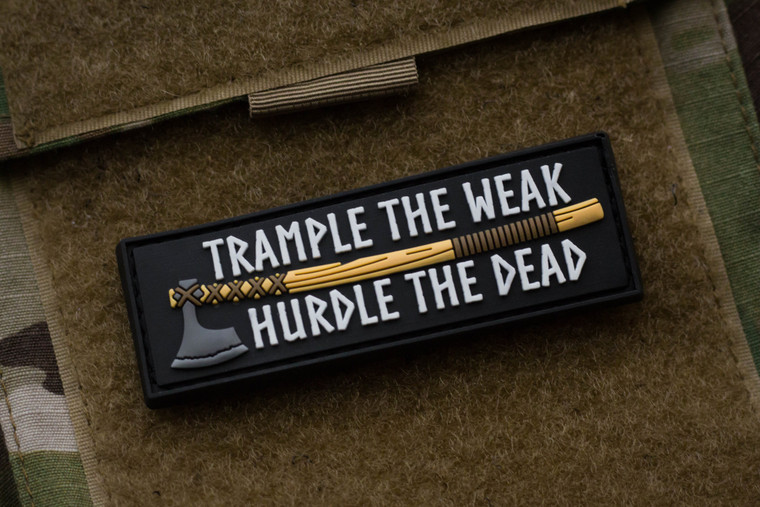 Trample The Weak Morale Patch
