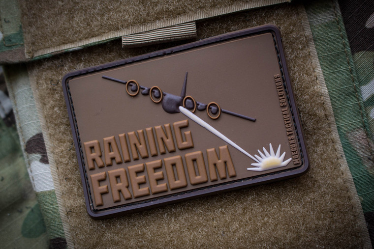 Raining Freedom FDE Morale Patch