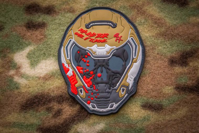 DOOM Helmet Morale Patch