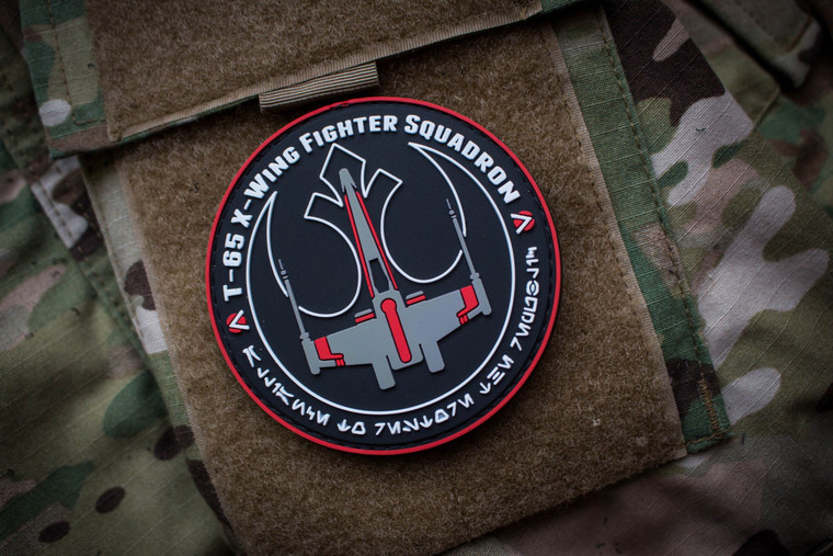 Rebel Alliance X-Wing Red Squadron Morale Patch