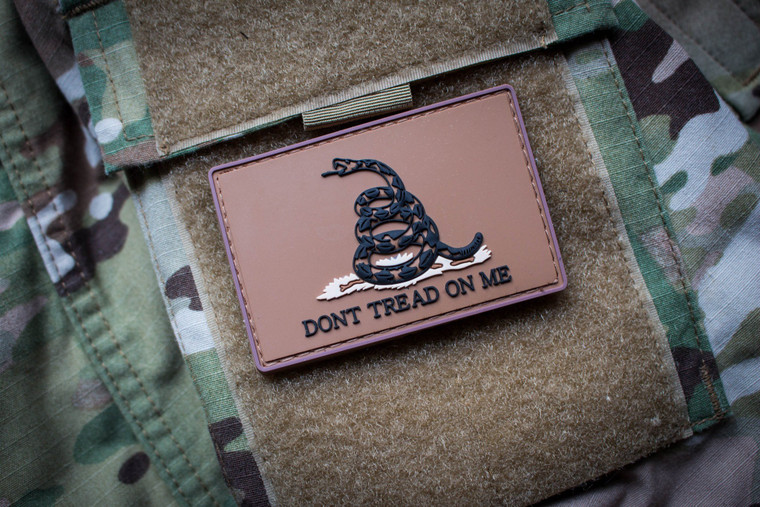 Don't Tread on Me FDE Morale Patch
