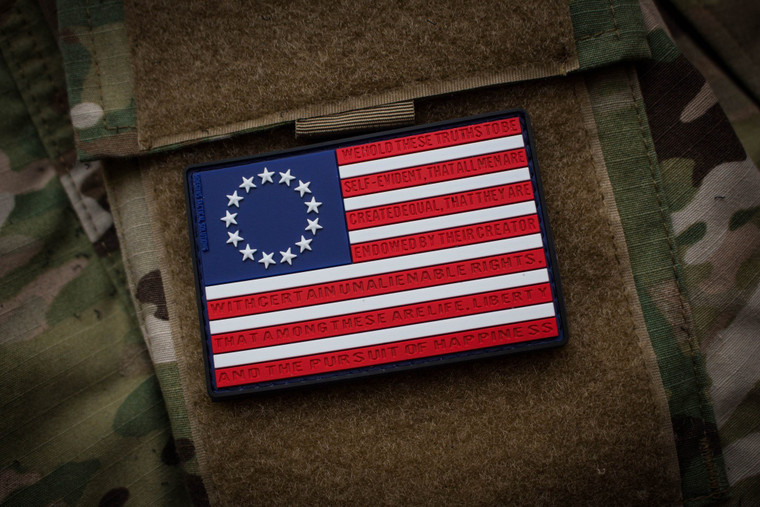 Betsy Ross Morale Patch Color