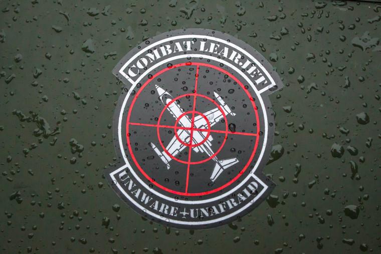 Combat Learjet Sticker