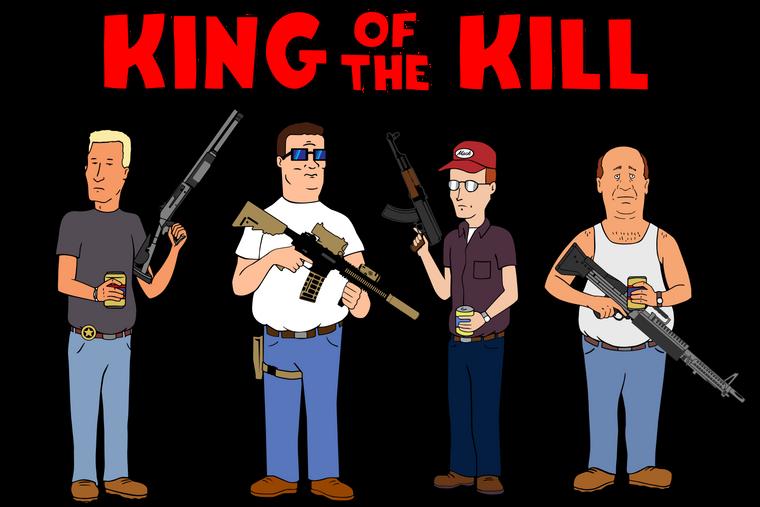 King of The Kill Sticker Set