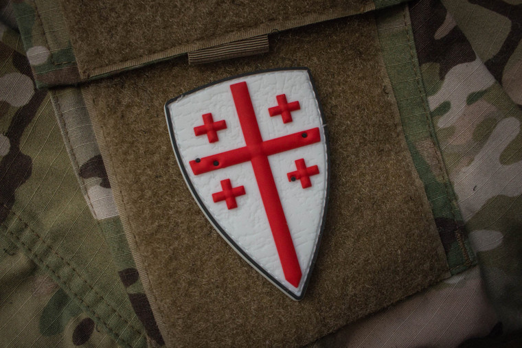 Crusader Shield Morale Patch