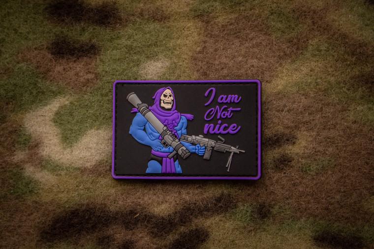 I Am Not Nice Morale Patch