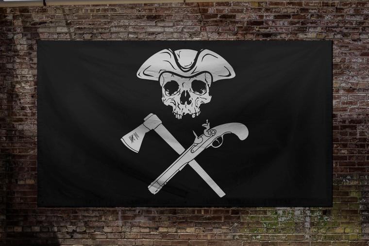 Jolly Roger Black Flag
